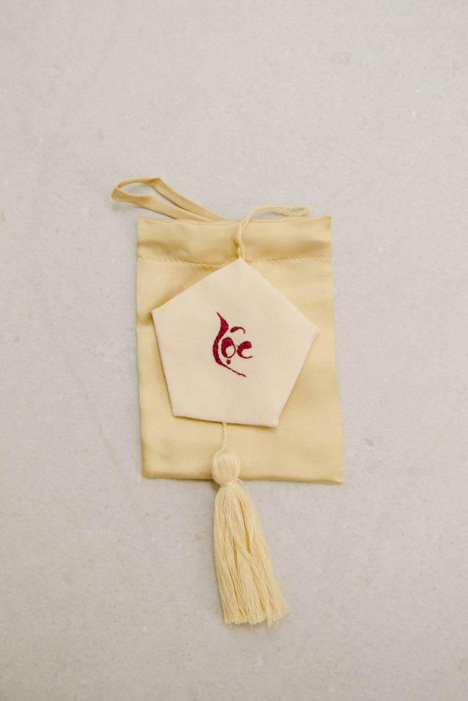 Wish Set - Lộc / Prosperity Trinket + Yellow Lì Xì Silk Pouch