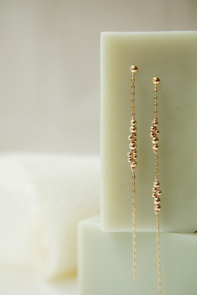 Rho Earrings - Abacus Row Handmade Jewelry