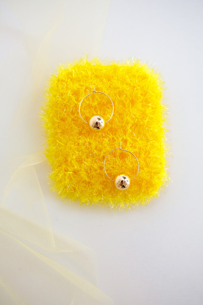 Pomelo Hoop Earrings - Year of the Ox Collection by Abacus Row