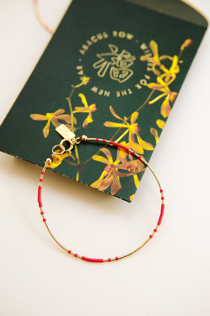 Prosperity Bracelet - Year of the Ox Collection by Abacus Row