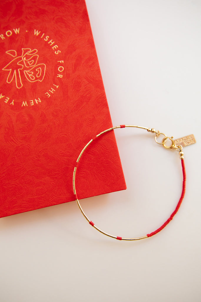 Firecrackers Bracelet - Year of the Ox Collection by Abacus Row