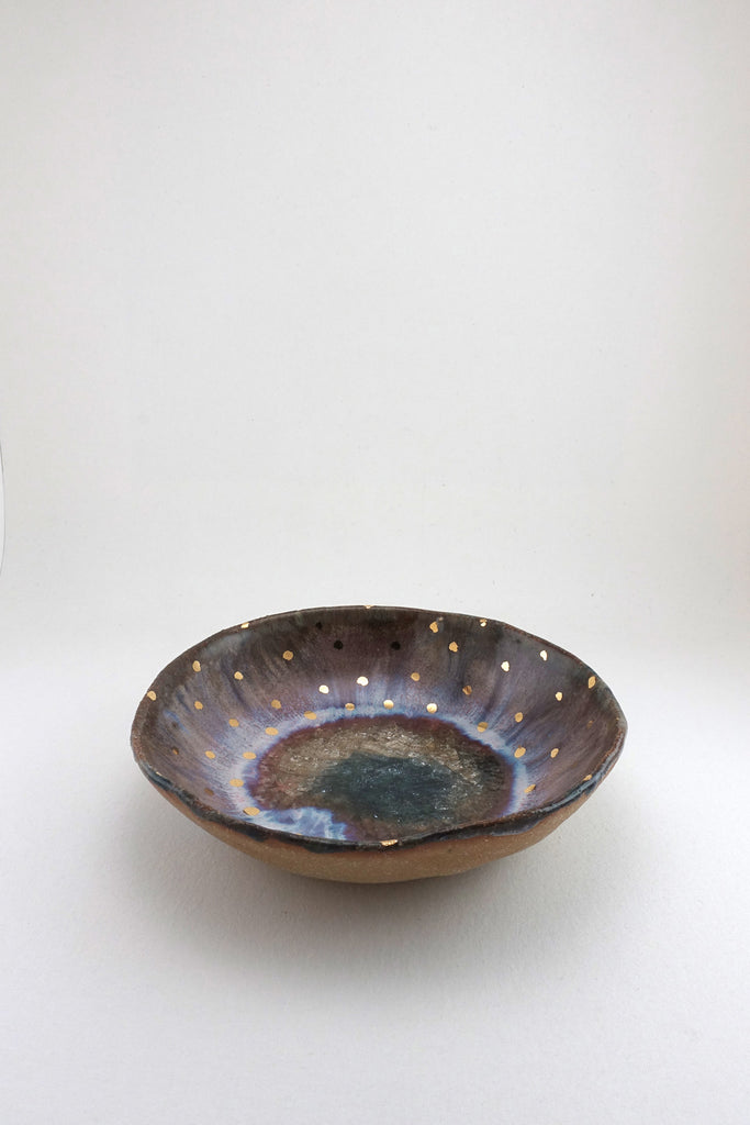 Small Iceland Aurora Bowl by Minh Singer