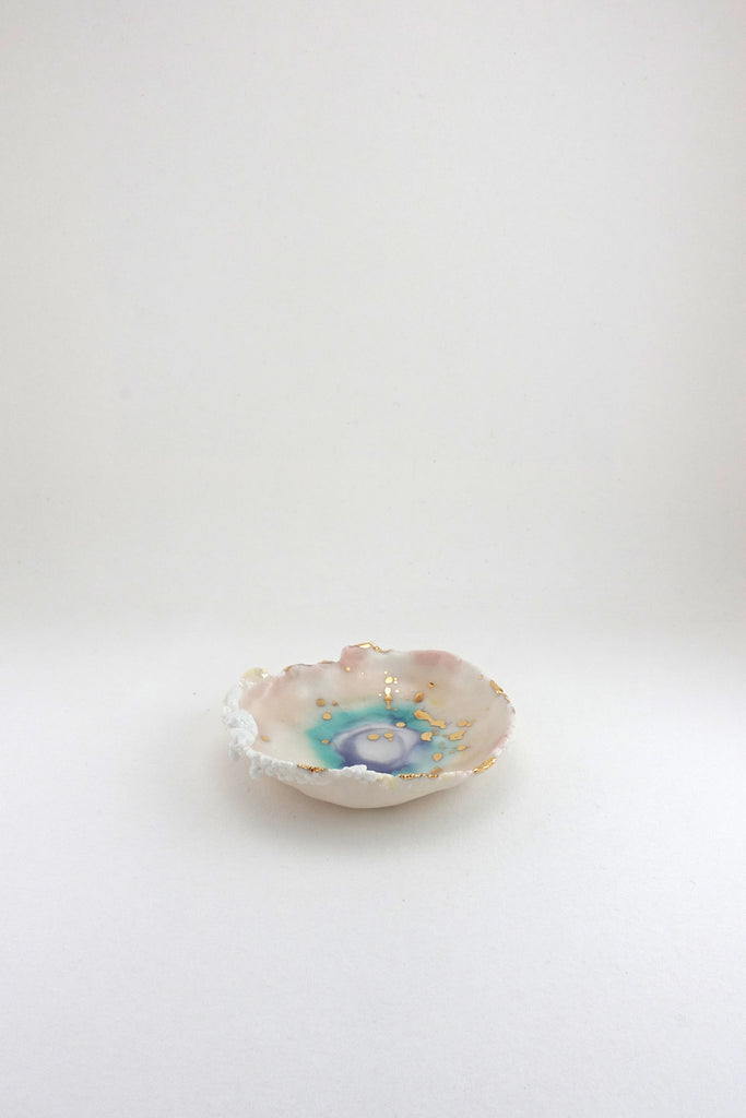 Mini Prism Dish with Cloud by Minh Singer