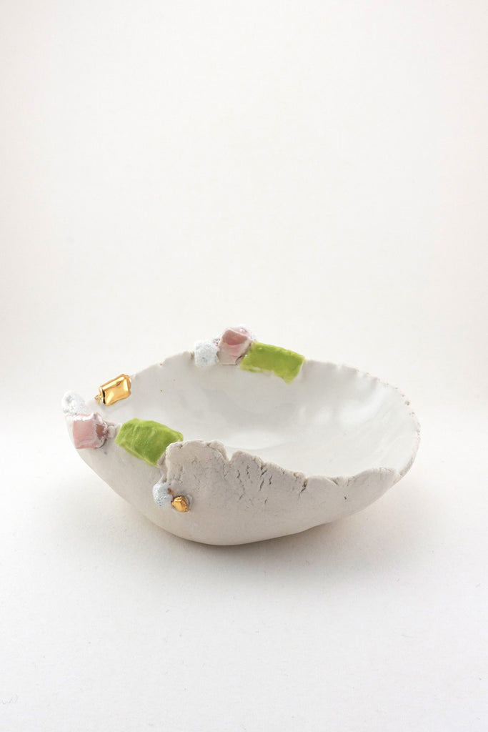 Mini Sakura Dish with Gold by Minh Singer at Abacus Row