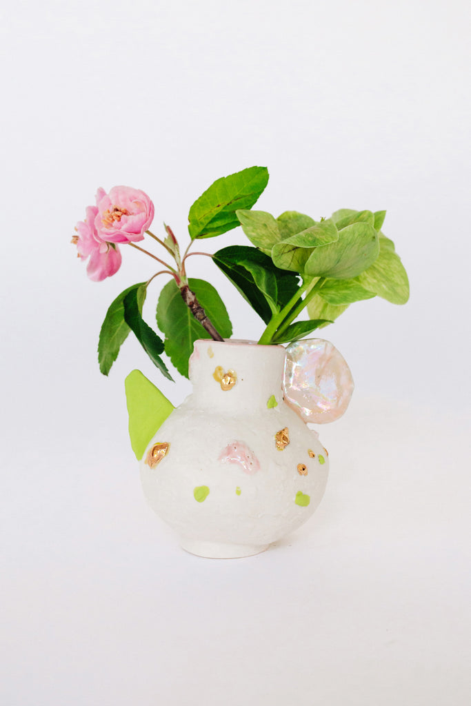Wildflower Vessel by Minh Singer at Abacus Row