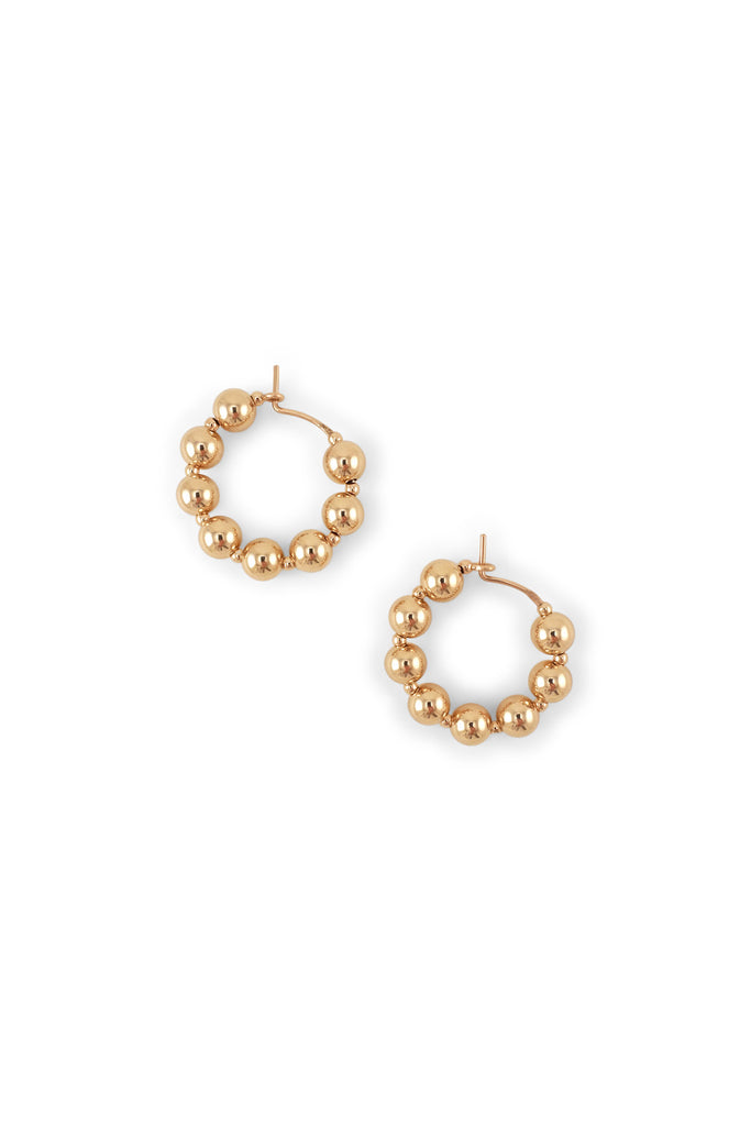 Ba Fa Hoop Earrings - Year of the Ox Collection by Abacus Row