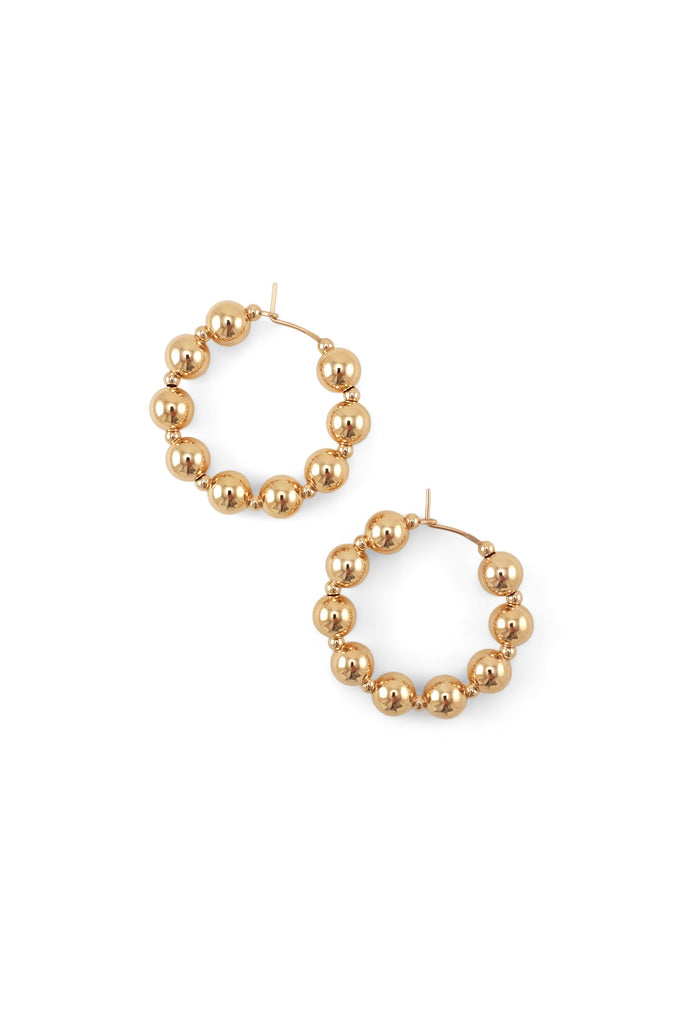 Jiu Jiu Hoop Earrings - Year of the Ox Collection by Abacus Row