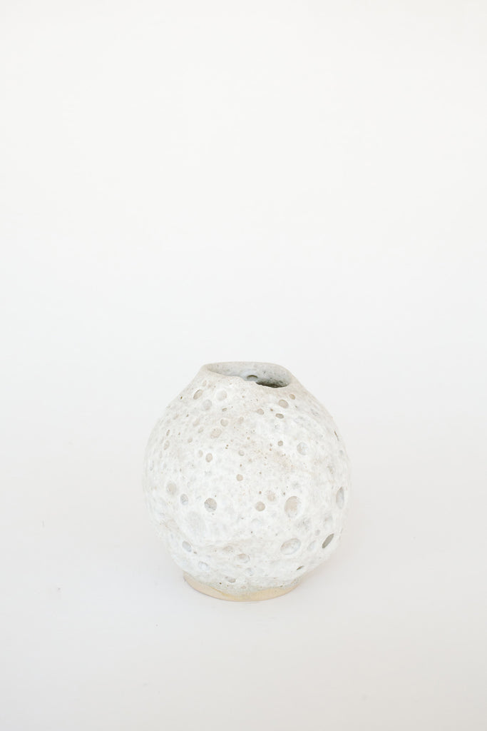Small Moon Vase by Raina Lee