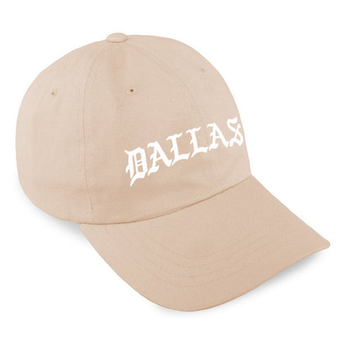 DALLAS STRAPBACK / TAN