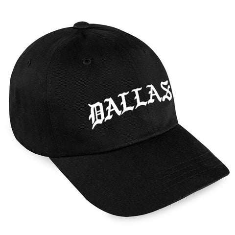 DALLAS STRAPBACK / BLACK