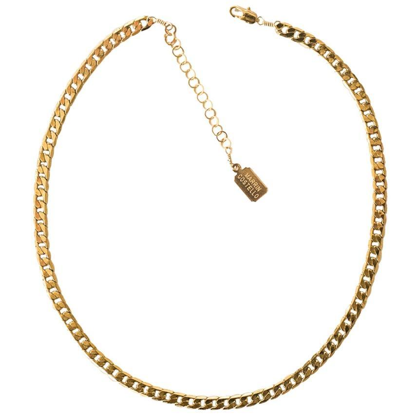 CALLIE CHOKER — gold