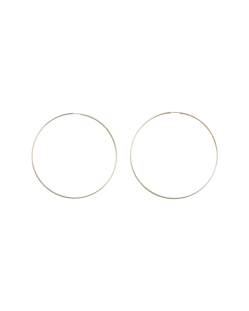 FOREVER HOOP — SIZE 5 — gold