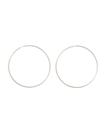 FOREVER HOOP — SIZE 6 — gold