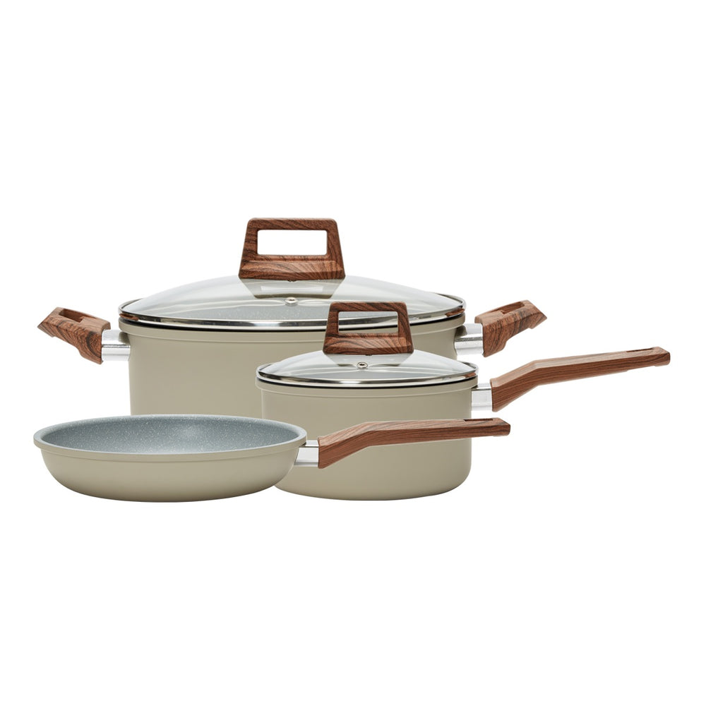 5 Piece Cookware Set- Beige (PC-034-211)
