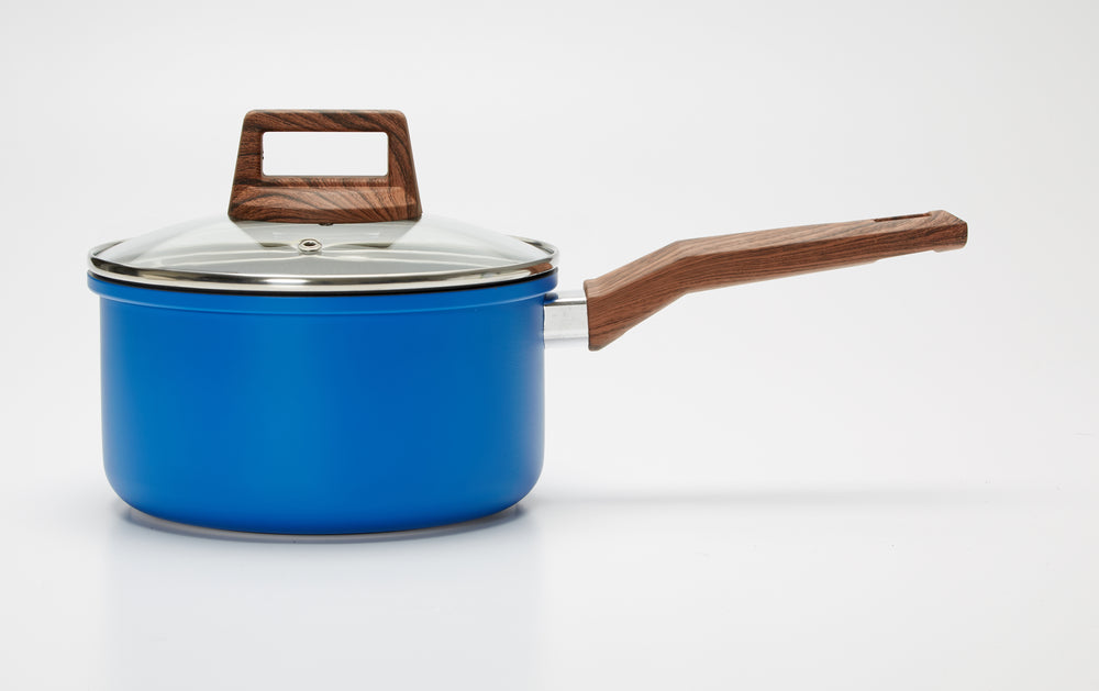 5 Piece Cookware Set- Blue