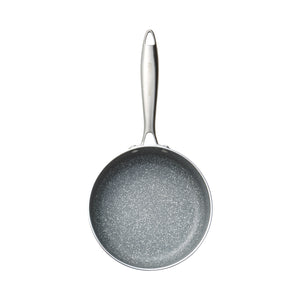 Stainless Steel 1.8 QT Grey Marble Sauce Pan (PC-031-020)