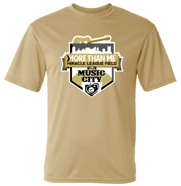 MTM Miracle League Field (Pre-Order) - Dri-fit (Gold/Charcoal)