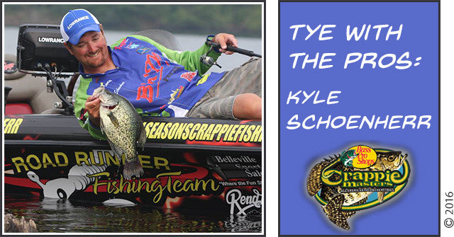 TYE With A PRO: Crappie Champ Kyle Schoenherr