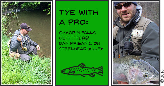 TYE With A PRO: Chagrin Falls Outfitters' Dan Pribanic on Steelhead Alley
