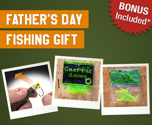 Keep Dad Fishing with TYEPRO's Father's Day Giveaway; Free Crappie Bait & Trailers!