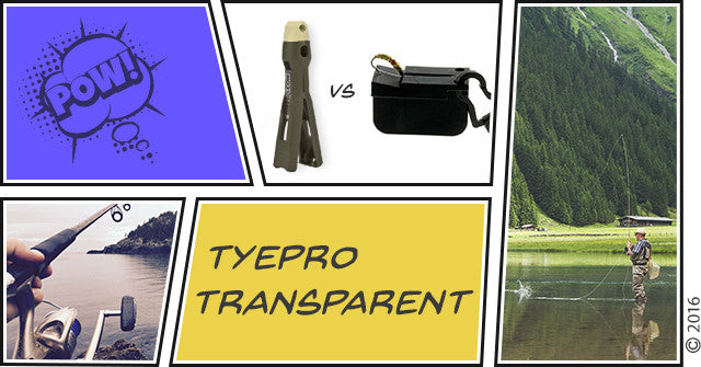 TYEPRO Transparent: TYEPRO vs. Magnetic Tippet Threader