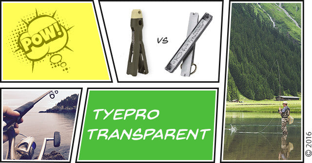 TYEPRO Transparent: TYEPRO Vs. Quik Tye