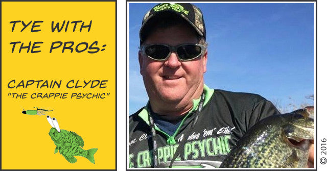 "TYE With The PROs: Captain Clyde ""The Crappie Psychic"" Folse"