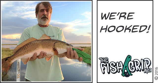 We're Hooked: The Fish Grip Saves You Some Pain...Literally