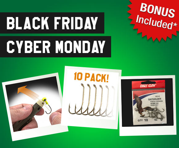Black Friday & Cyber Monday Gift: Free Hooks for TYEPRO Christmas Holiday Shoppers!