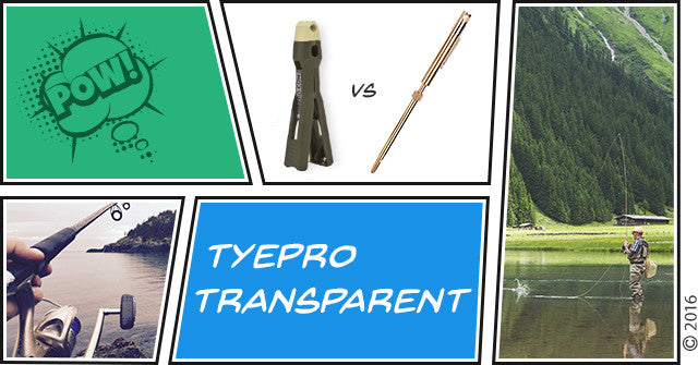 TYEPRO Transparent: TYEPRO Vs. Cinch Tie
