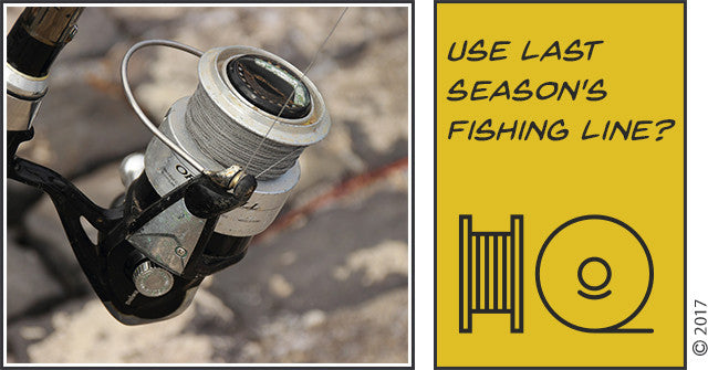Can You Use Last Season's Fishing Line After A Long Winter?