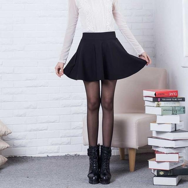 Sexy Skirts Womens 2016 Fashion Fall Winter Mini Skirt Plus Size XLliilgal-liilgal