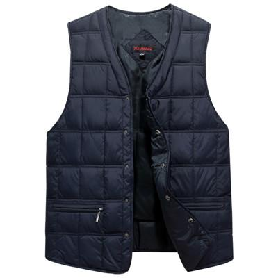 Winter Dresses Men White Duck Down Causal Vest Ultra Light Male Thickliilgal-liilgal