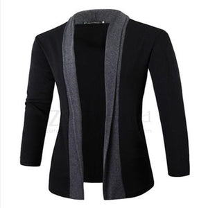 2017 Hot sale Jacket Men coat wool long sleeve slim Lapel collarliilgal-liilgal