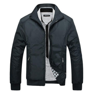 Black Thin Models Jacket 2015 New Hot Selling Fashion European Style Men'sliilgal-liilgal