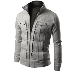 Fashion Men Coats Winter Jacket Men Slim Outwear Warm Coat Top Brandliilgal-liilgal