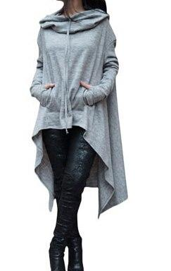 New Fashion Women's Clothing Long Sleeve Hoodie Sweatshirt Pullover Tops Casual Blouseliilgal-liilgal