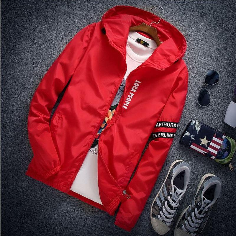 New 2017 jacket men brand Fashion lover jacket hip hop men Windbreakerliilgal-liilgal