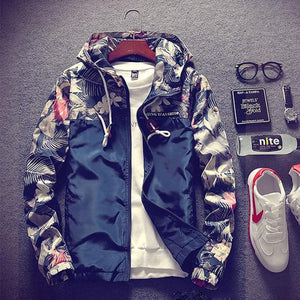 Jaqueta Masculina Spring Autumn Bomber Military Jacket Men Casual Hooded Camo Jacketliilgal-liilgal