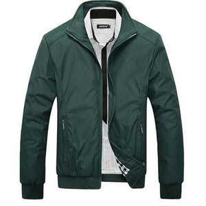 2018 Men's Jackets Men's New Casual Jacket High Quality Spring Regularliilgal-liilgal