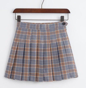 Korean of the new high waist short skirt college wind a wordliilgal-liilgal