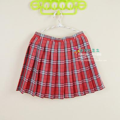 2018 Women'S Harajuku Pleated College Cosplay Large Size Plaid Student High Waistliilgal-liilgal
