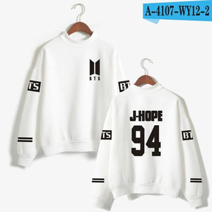 Love Yourself kpop Capless Sweatshirts Bangtan boy outwear Hip-Hop Women andliilgal-liilgal