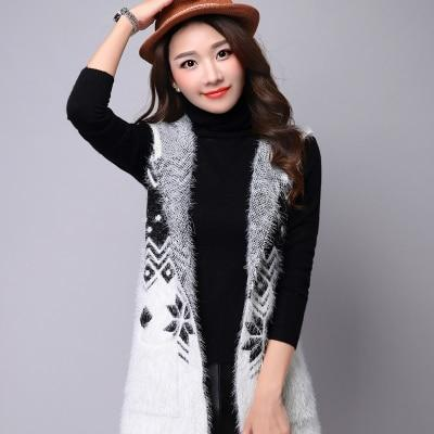 The new women's autumn fashion hippocampus wool cardigan jacket and long sectionsliilgal-liilgal