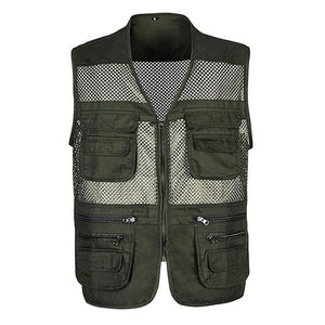 Summer Men Classic Mesh Vest XL-3XL New Male Casual Thin Breathable Sleevelessliilgal-liilgal