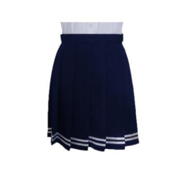 XS-3XL Harajuku JK Summer Skirts 2018 Women High Waist Pleated Skirt Windliilgal-liilgal