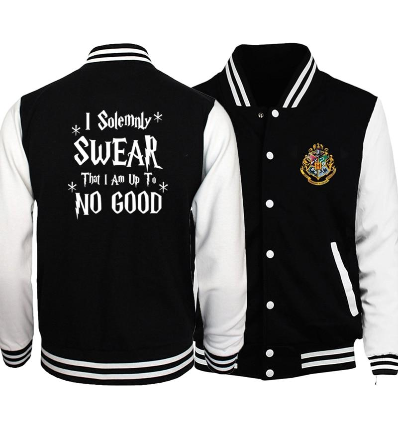 I Solemnly Swear That I Am Up To No Good Print Jacketsliilgal-liilgal