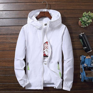 High Quality Men Sun Protection Light Jacket Hoodie Coats 2018 Stylish Fashionliilgal-liilgal