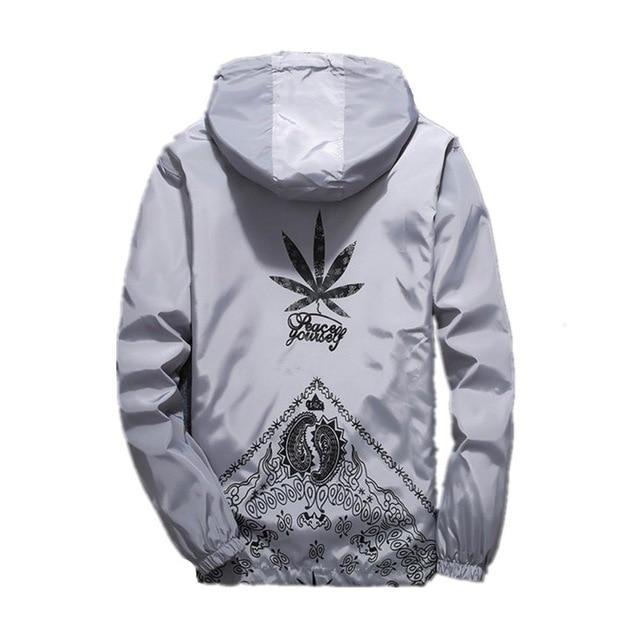 Drop Ship US size jacket windbreaker men jaqueta masculina zipper waterproof jacketsliilgal-liilgal