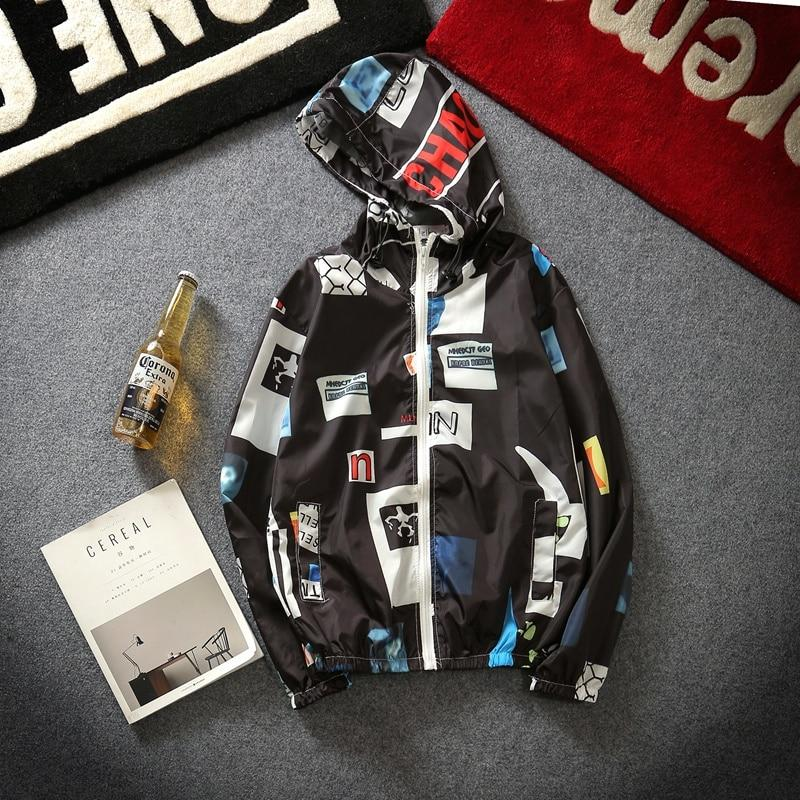 Spring Summer Jacket Men and Women Thin Harajuku Punk Fashion Casualliilgal-liilgal